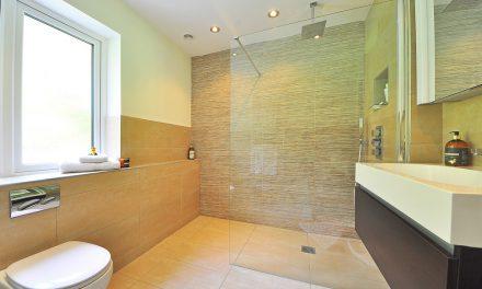 Łazienka w mieszkaniu industrialnym